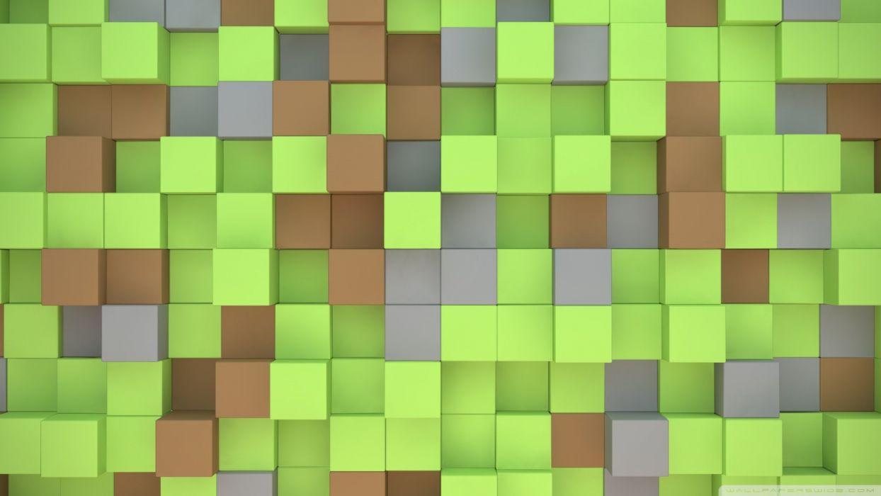 minecraft cubes-wallpaper-1920x1080 wallpaper