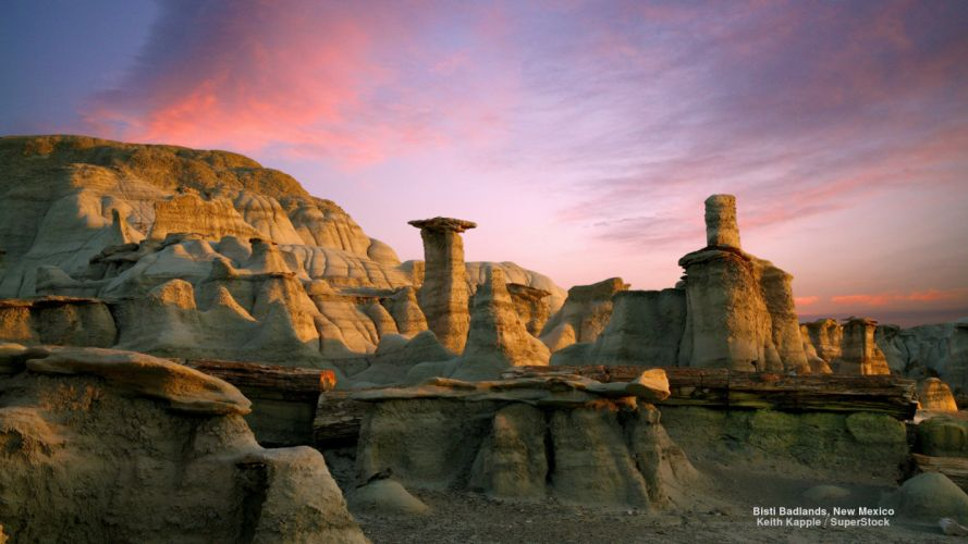 Bisti Badlands New Mexico wallpaper