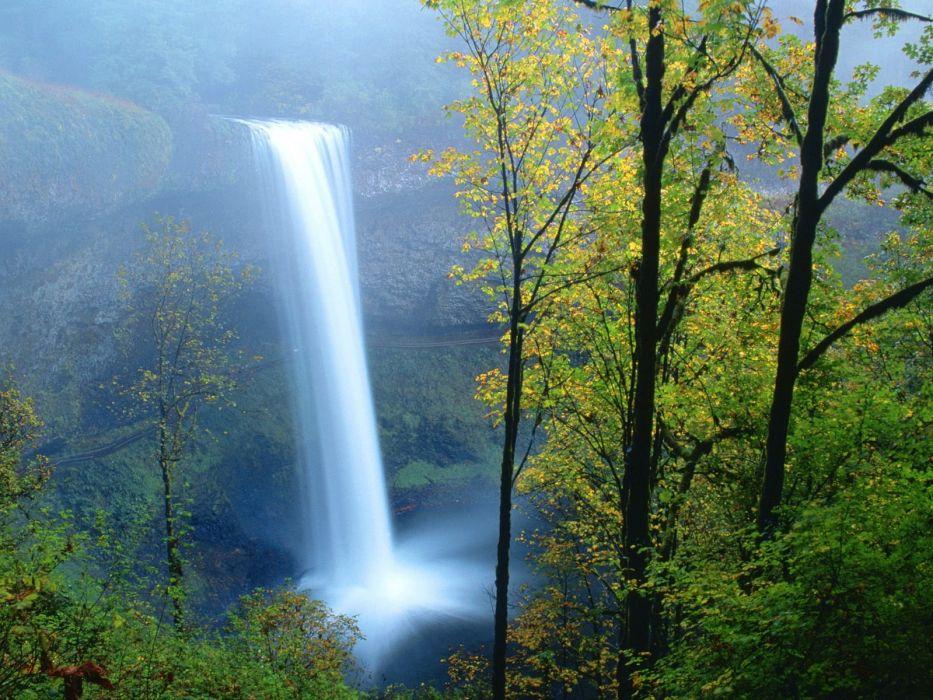Copy(1) of South Falls Silver Falls State Park Oregon wallpaper