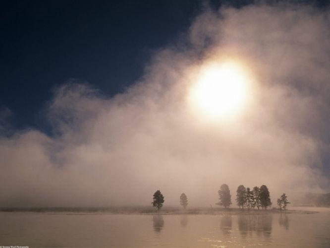 Hayden Valley Yellowstone National Park Wyoming wallpaper