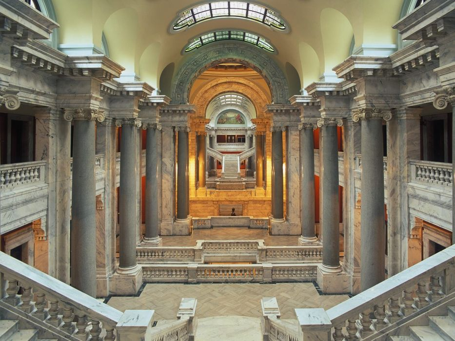 Interior of the State Capital Building Frankfort Kentucky wallpaper
