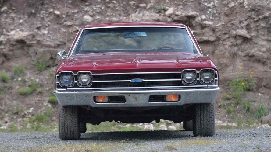 1969 CHEVROLET EL-CAMINO pickup cars Maroon wallpaper