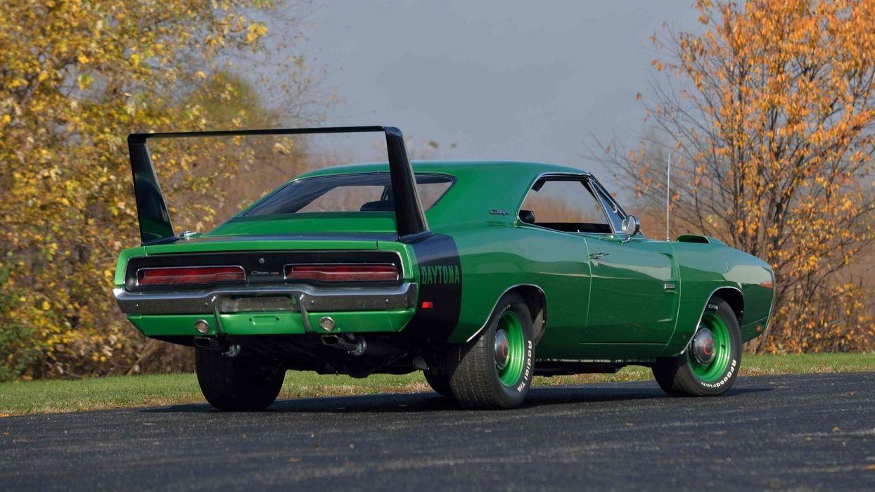 1969 Dodge Hemi Daytona Cars Green Wallpaper 1664x936 1033559 Wallpaperup