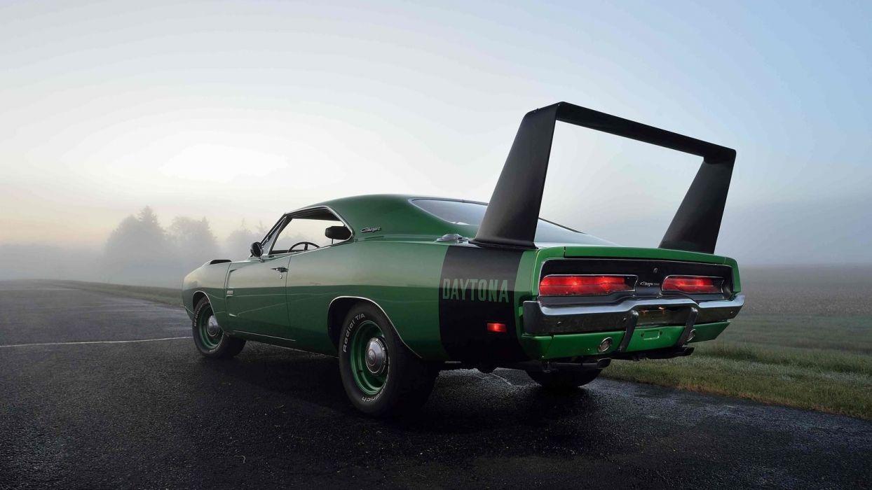 1969 Dodge Hemi Daytona Cars Green Wallpaper 1664x936 1033563 Wallpaperup