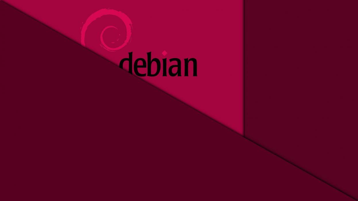 debian-flat-wallpaper-manimalist wallpaper