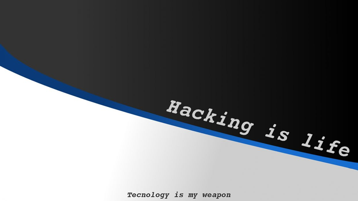 Обои hacked, hack, Hacker. Минимализм foto 9