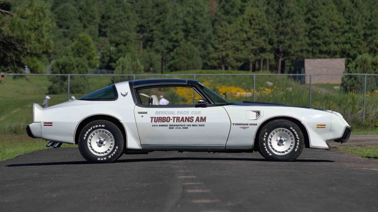 1980 PONTIAC TURBO TRANS-AM PACE CAR EDITION wallpaper