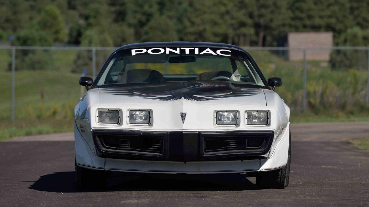 1980 PONTIAC TURBO TRANS-AM PACE CAR EDITION wallpaper