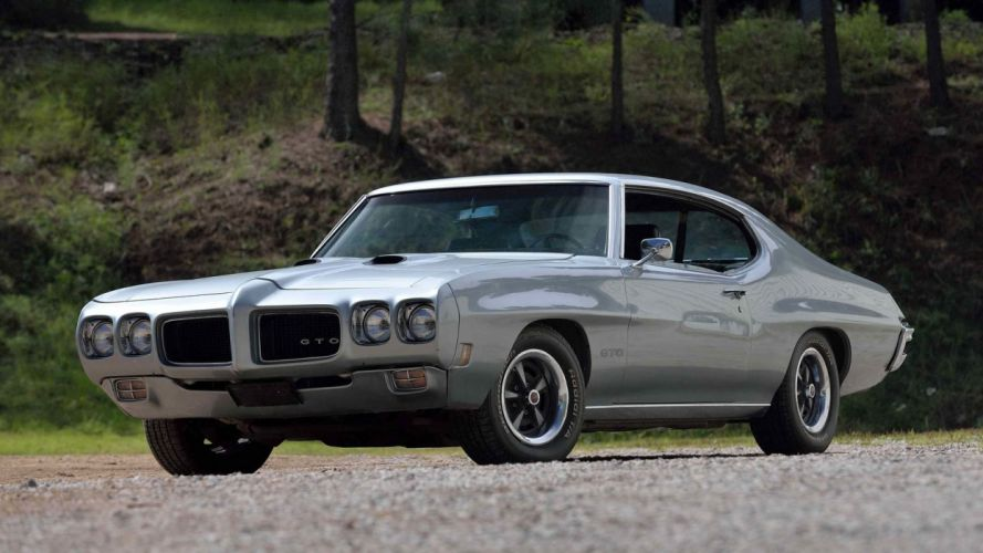 1970 PONTIAC GTO cars silver wallpaper