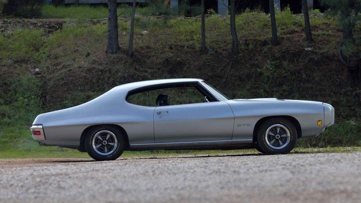 1970 PONTIAC GTO cars silver wallpaper