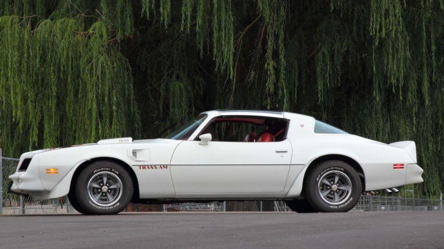 1977 PONTIAC TRANS-AM cars white wallpaper
