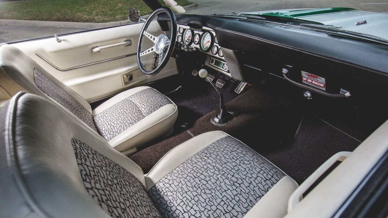 1969 CHEVROLET CAMARO cars CONVERTIBLE green wallpaper