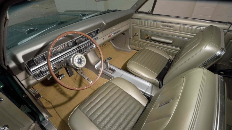 1967 FORD FAIRLANE GTA cars GREEN wallpaper
