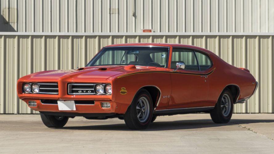 1969 PONTIAC GTO JUDGE orange wallpaper