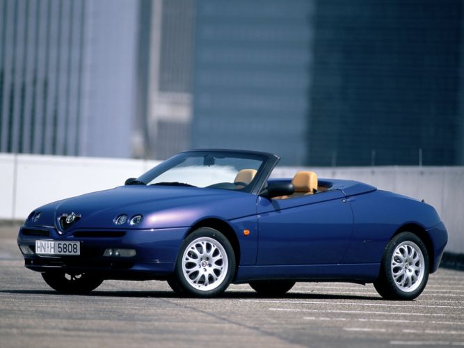 Alfa Romeo Spider 1998 wallpaper
