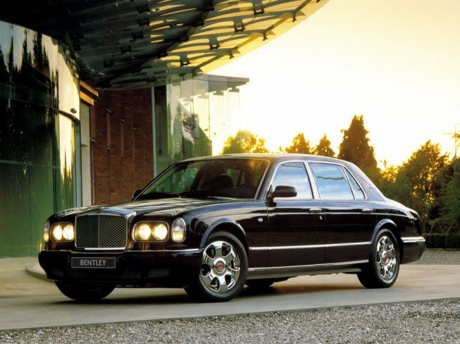 Bentley Arnage Red Label LWB Personal Commission 2001 wallpaper