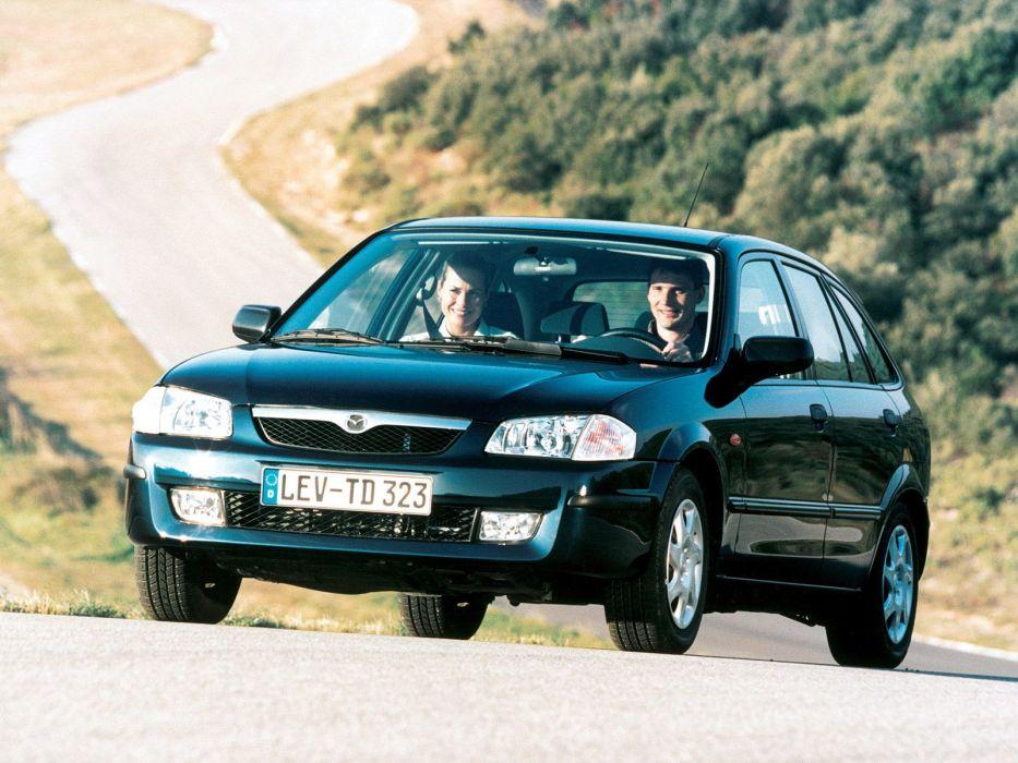 Mazda 323 F 1998 wallpaper