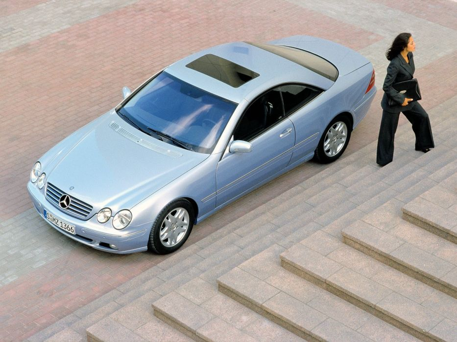 Mercedes-Benz CL500 1999 wallpaper