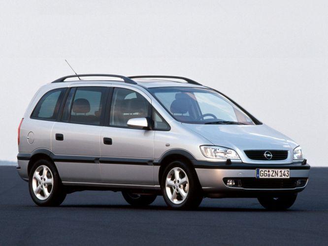 Opel Zafira 1999 wallpaper