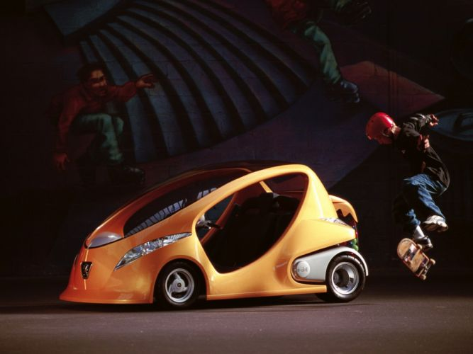 Peugeot E-doll Concept 2000 wallpaper