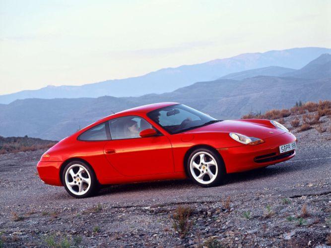 Porsche 911 Carrera Coupe 1997 wallpaper