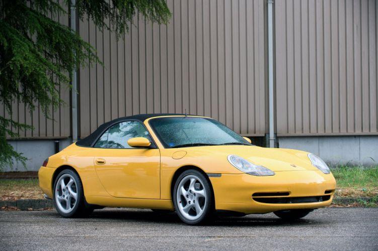 Porsche 911 Carrera Cabriolet 1998 wallpaper