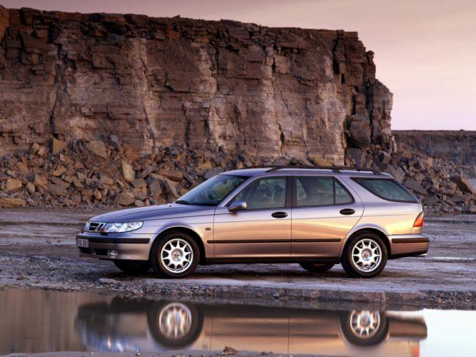 Saab 9-5 Wagon 1998 wallpaper