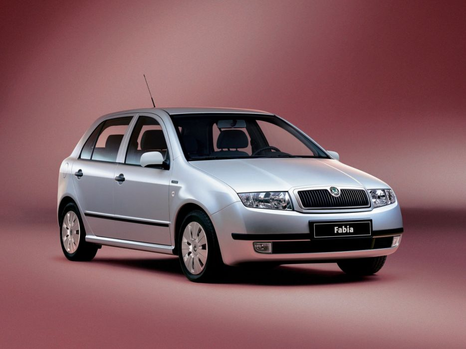 koda Fabia 1999 wallpaper