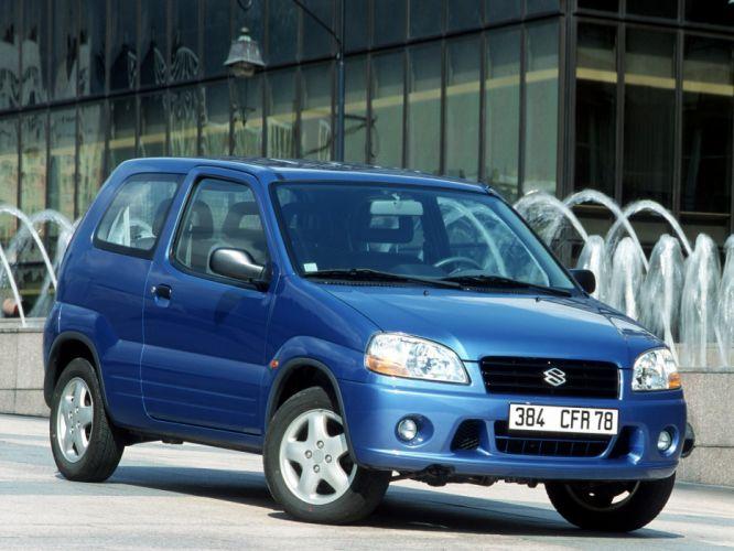 Suzuki Ignis 3-door 2000 wallpaper