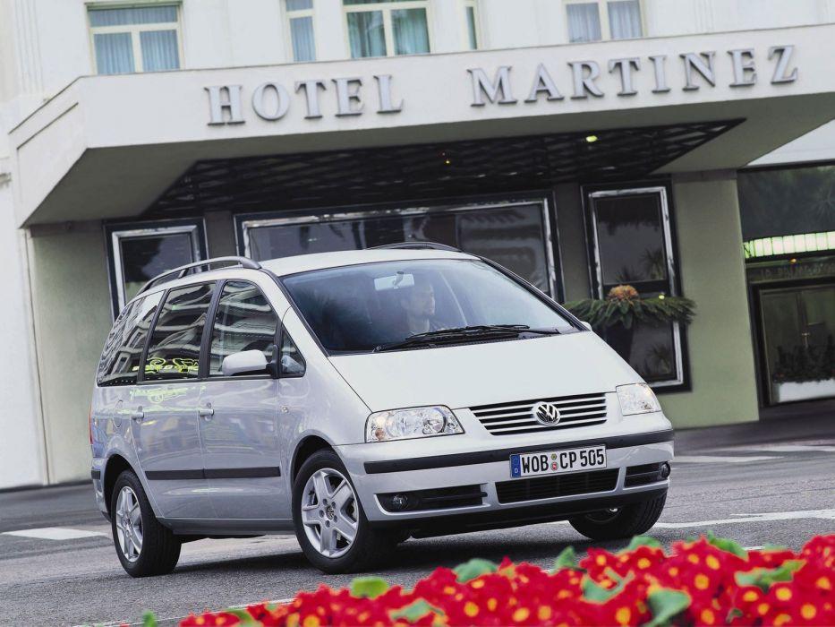 Volkswagen Sharan 2000 wallpaper