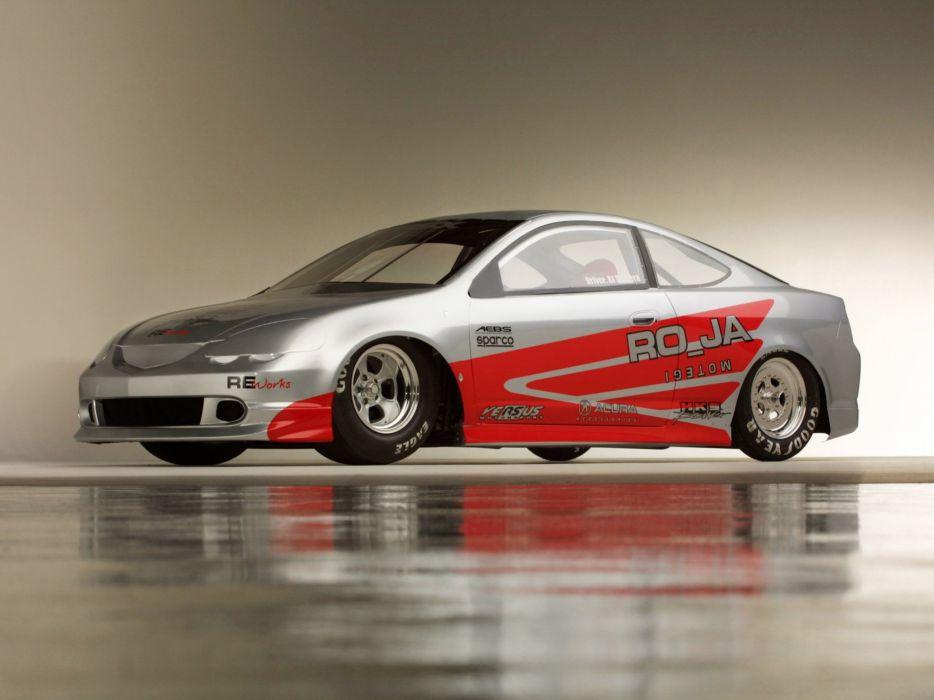 Acura RSX Pro Drag Car 2001 wallpaper