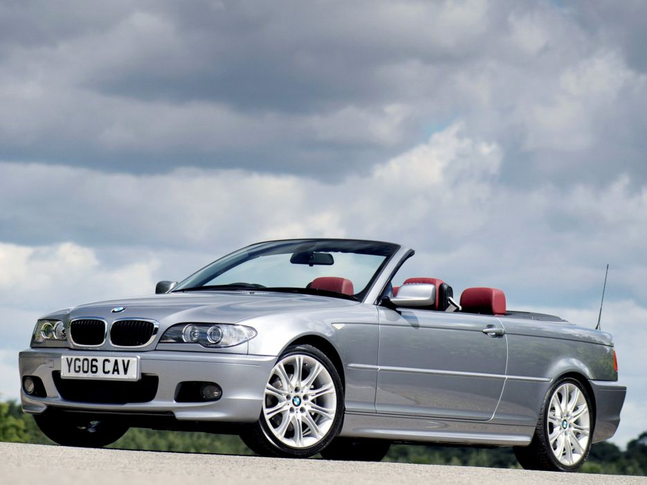 BMW 320Cd Cabrio M Sport Package 2006 wallpaper