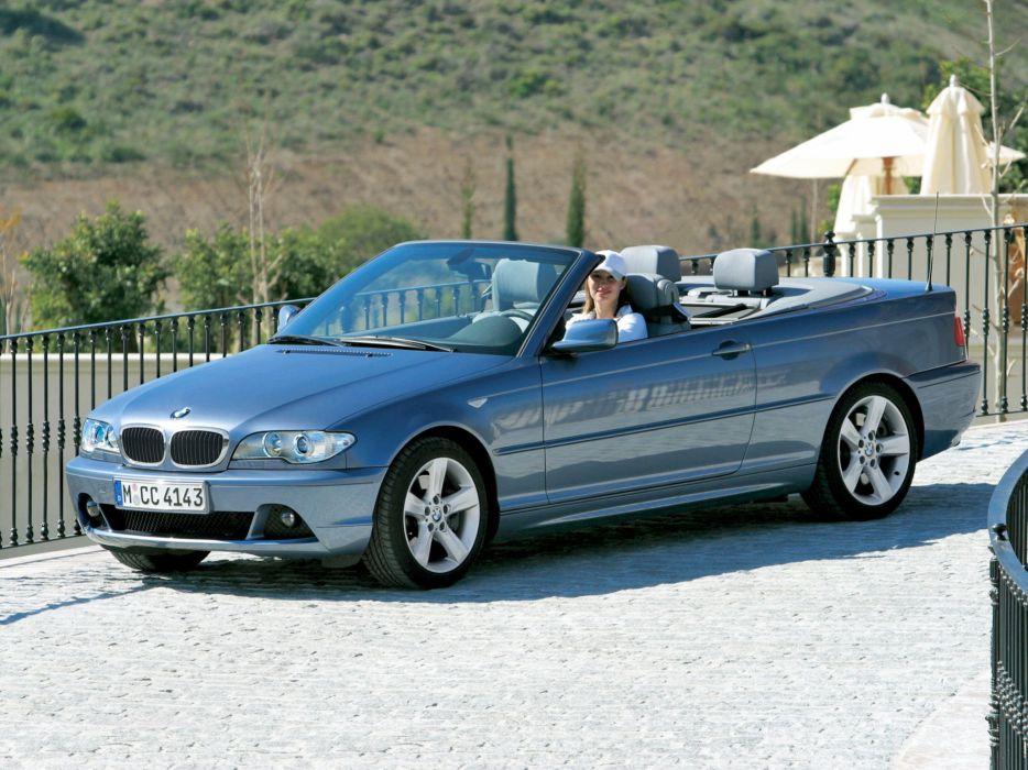 BMW 320Cd Cabrio 2004 wallpaper
