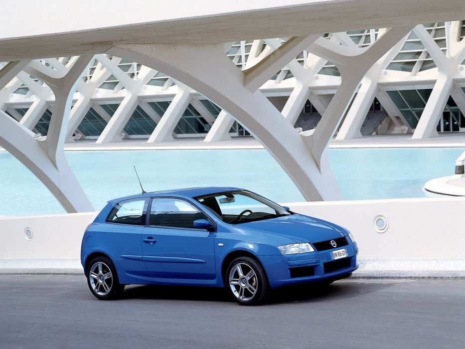 Fiat Stilo Abarth 3-door 2001 wallpaper