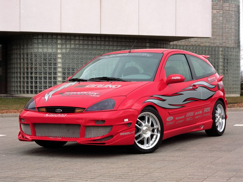 Ford Focus ZX3 Mobility Show Car 2002 wallpaper