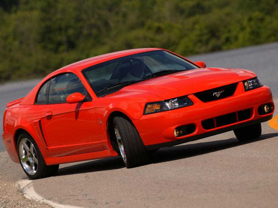 Ford Mustang SVT Cobra Coupe 2002 wallpaper