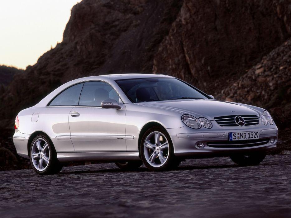 Mercedes-Benz CLK500 2002 wallpaper