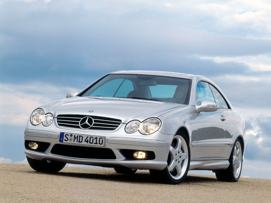 Mercedes-Benz CLK 55 AMG 2002 wallpaper