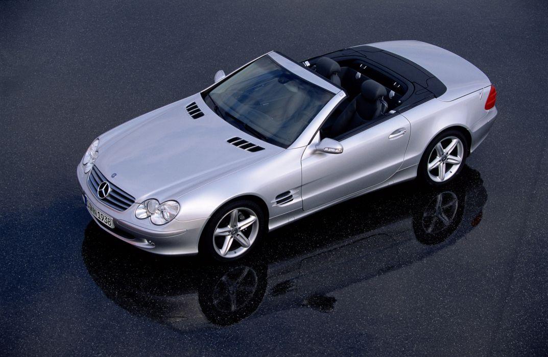 Mercedes-Benz SL500 2001 wallpaper