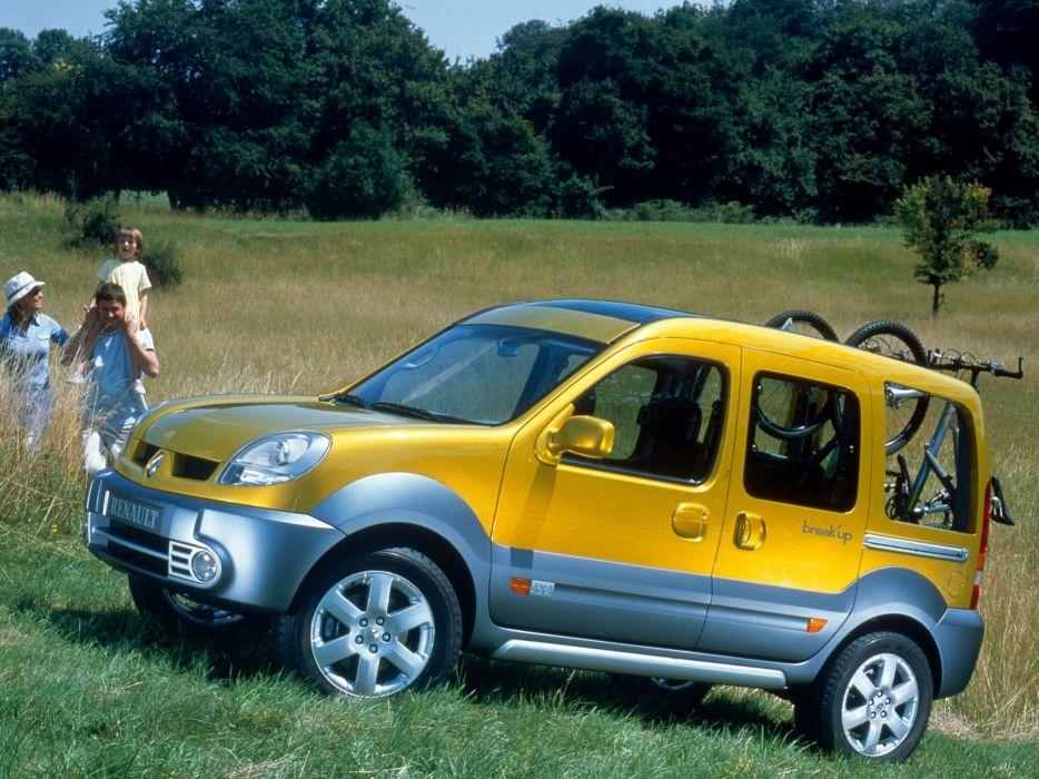 Renault Kangoo Break'up Concept 2002 wallpaper
