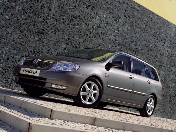 Toyota Corolla Wagon 2001 wallpaper