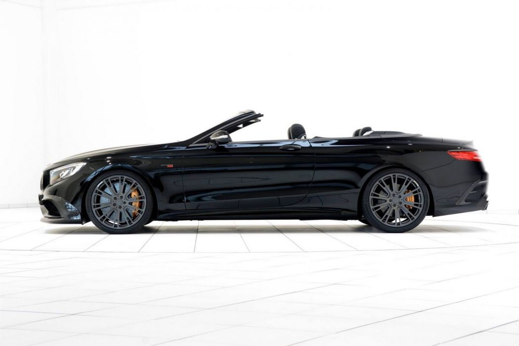 Mercedes S63 AMG Brabus 850 cars convertible modified black wallpaper