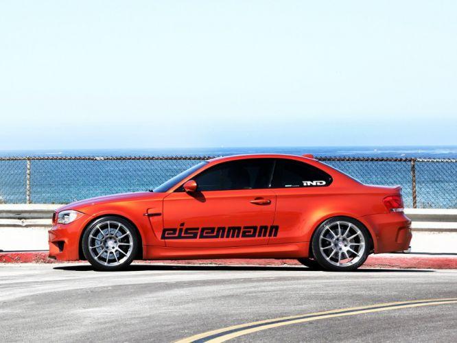 Eisenmann BMW 1-Series (M) Coupe (E82) cars orange modified 2011 wallpaper