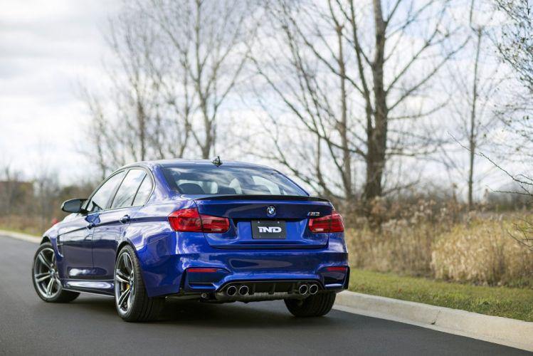 IND BMW (M3) (F80) cars sedan modified 2014 wallpaper