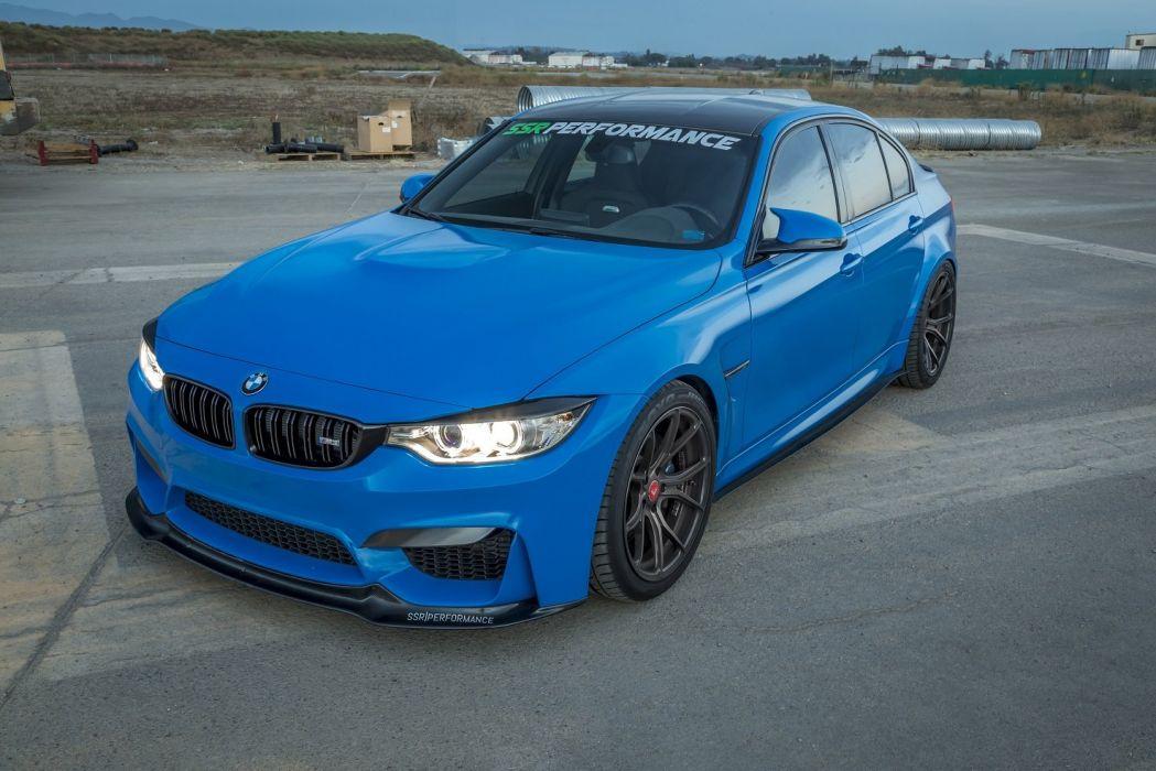 Ssr Performance Bmw M3 F80 Cars Sedan Blue Modified 2014 Wallpaper 1475x984 1034323 Wallpaperup