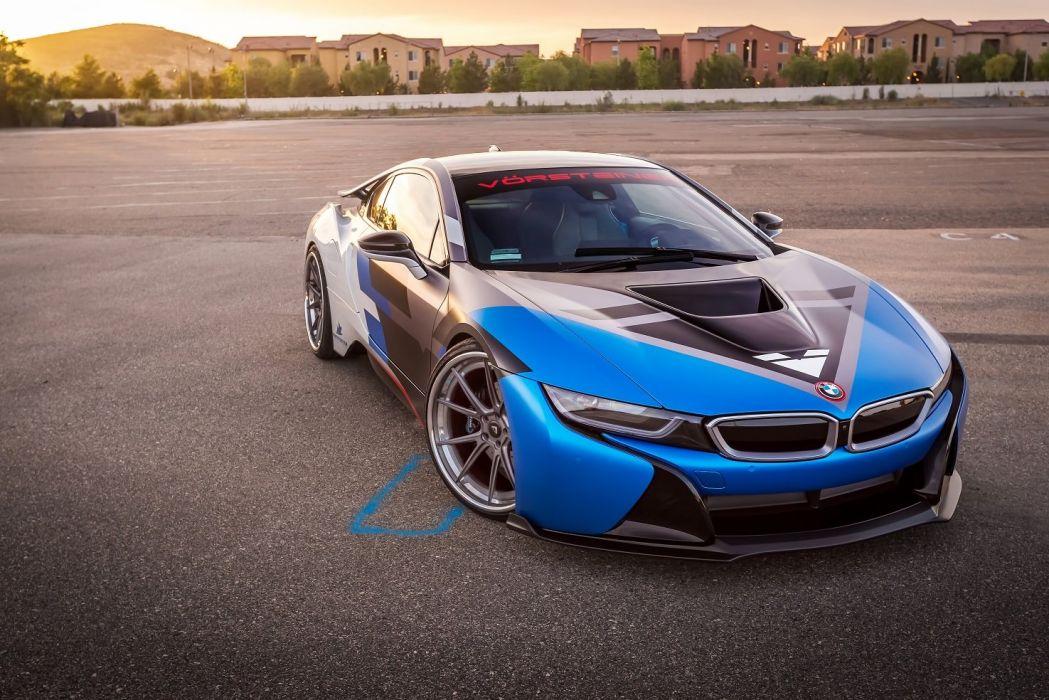 Vorsteiner BMW (i8) VR-E cars electric modified 2016 wallpaper