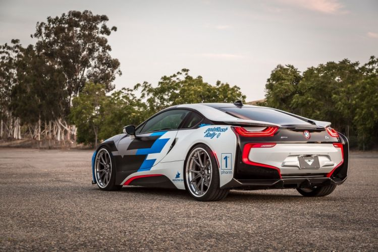 Vorsteiner BMW (i8) VR-E cars electric modified 2016 wallpaper