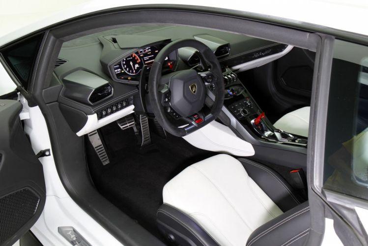 Vorsteiner Lamborghini Huracan Novara cars supercars white modified 2016 wallpaper