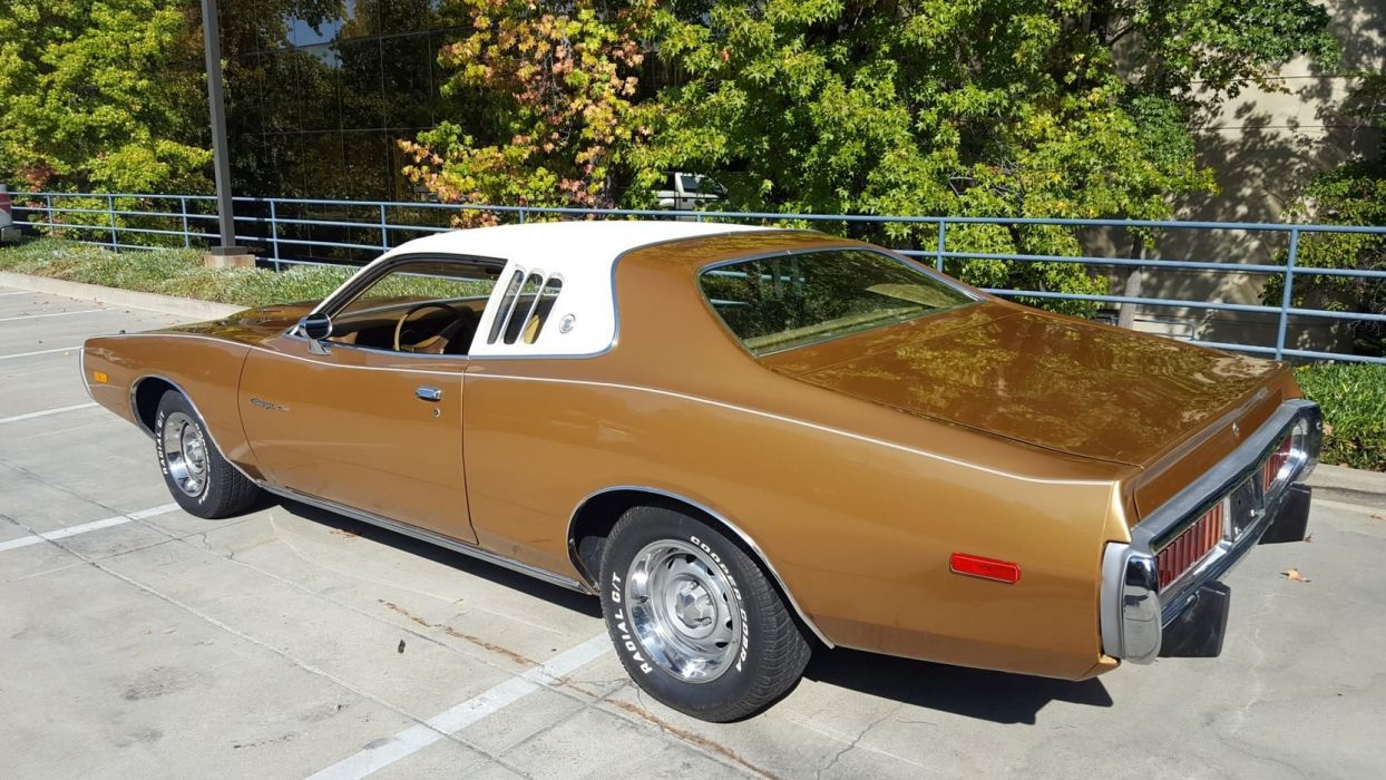 1973 DODGE CHARGER cars coupe wallpaper