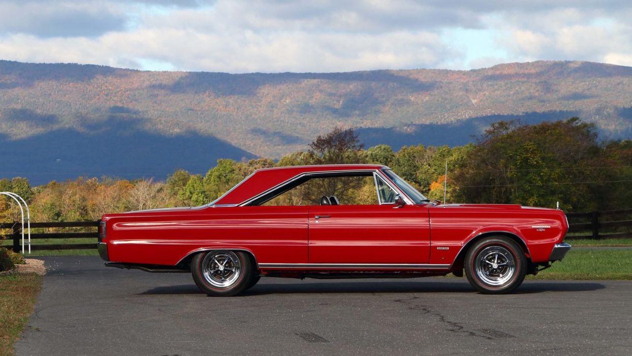 1967 PLYMOUTH HEMI GTX cars red wallpaper